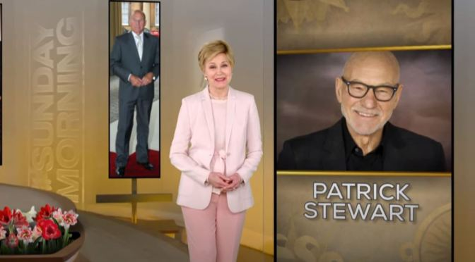 Interviews: 79-Year Old English Actor Patrick Stewart (CBS Sunday)
