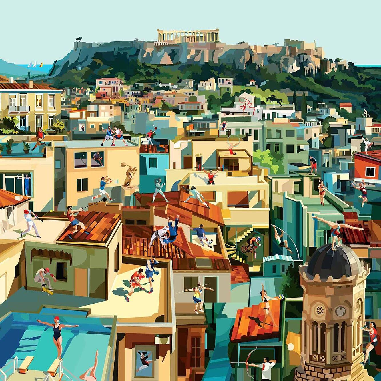 Pierpaolo Rovero Athens Plays Sports