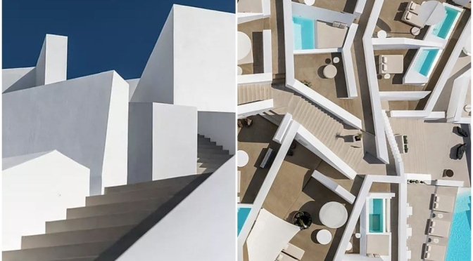 "Travel & Design: ""The Saint Hotel, Santorini, Greece"" – Kapsimalis Architects"