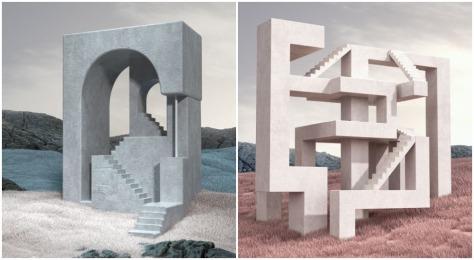 """Stairs"" By Istanbul-Based Murat Yıldırım"