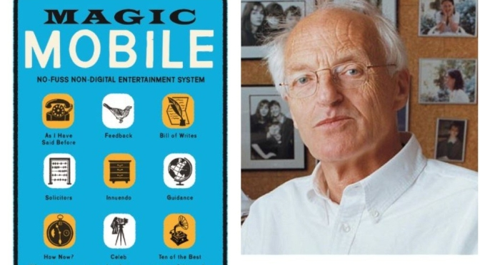 "Interviews: 86-Year Old British Author Michael Frayn – ""Magic Mobile"""