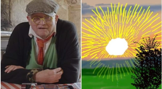 "Video Interview: British Painter David Hockney – ""The World is Beautiful"""