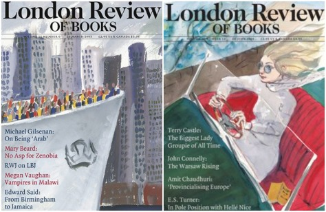 British Illustrator Peter Campbell - London Review of Books