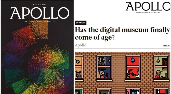 "Top New Art Magazines: ""Apollo – May 2020"" Issue"