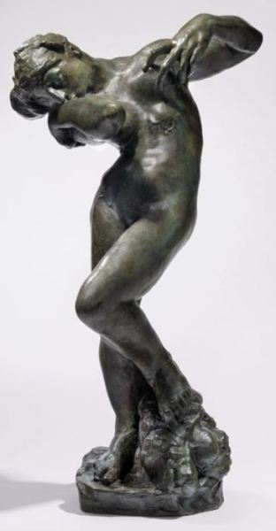 Auguste Rodin (1840-1917) Meditation, small model, type I version