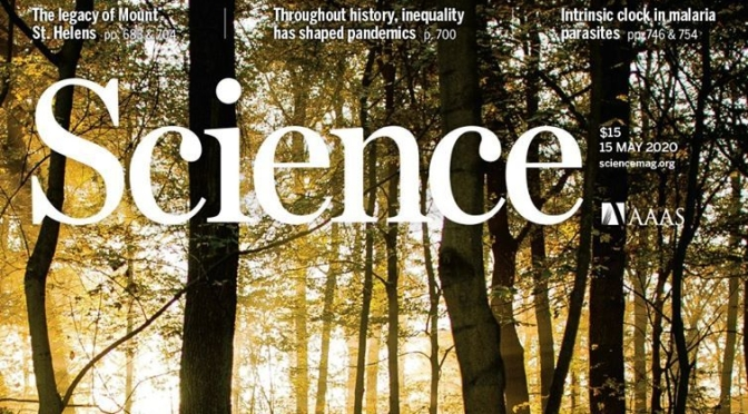 TOP JOURNALS: RESEARCH HIGHLIGHTS FROM SCIENCE MAGAZINE (MAY 15, 2020)