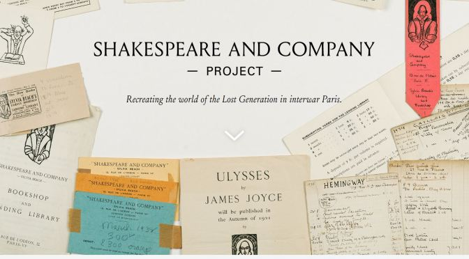 "Literature: ""Shakespeare And Company"" Digitizes Reading Library Of Joyce, Hemingway & De Beauvoir"
