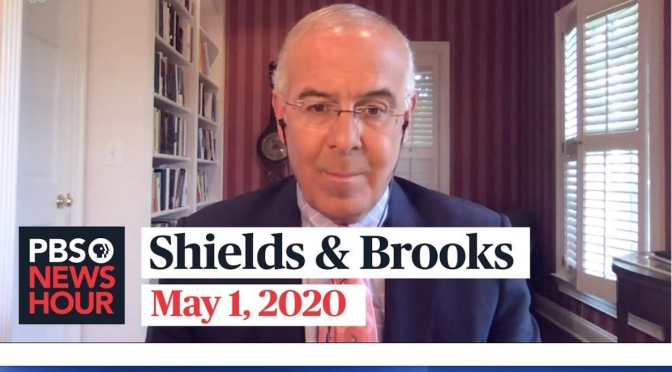 "Political News: ""Shields & Brooks"" On Joe Biden, Reopening The Economy"