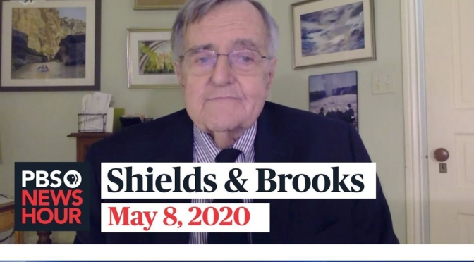 "Political News: ""Shields & Brooks"" On The Latest In Washington (PBS Video)"