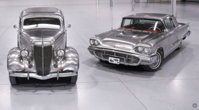 "Auto History: Three ""Solid Stainless Steel"" Ford Cars Auctioned (1936 – 1967)"