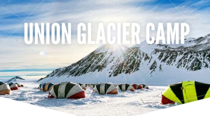"Travel Destination Videos: ""Union Glacier Camp"" In West Antarctica (2020)"