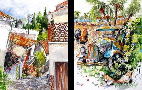 Watercolor Painter Rae Andrews - Landscapes