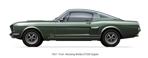 1967 Ford Mustang Shelby GT350 Zagato