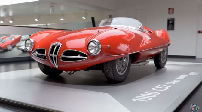 "Classic Car History: ""Alfa Romeo 110th Anniversary"" – Museum And Automotive Collection (Videos)"