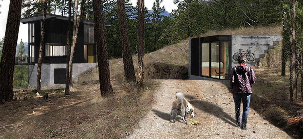 Arrowleaf Cabin - GoCstudio - Seattle 2020