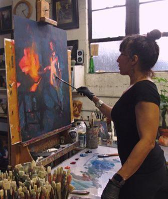 Artist Jennifer McChristian