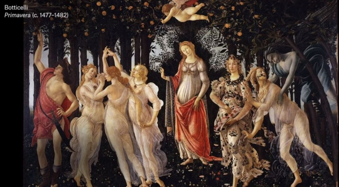 Art History Videos: Italian Early Renaissance Painter Sandro Botticelli (15th C.)