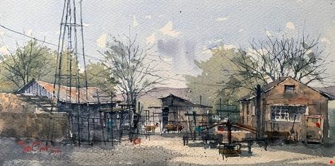 Bowen Ranch Goat Pens - Tim Oliver
