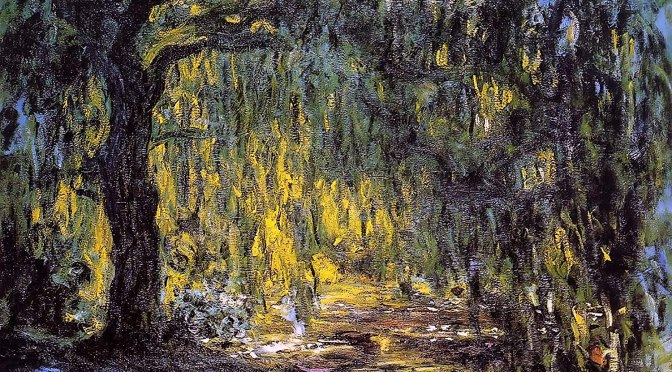 "20th Century Art: Claude Monet's ""Weeping Willow"" Paintings (1918 – 1919)"