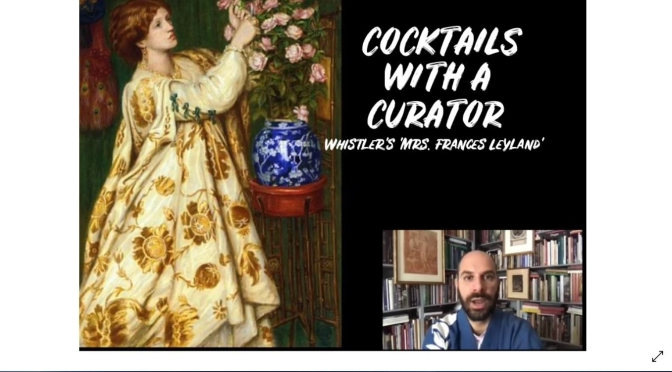 "Cocktails With A Curator: Whistler's 'Mrs. Frances Leyland'"" (The Frick Video)"