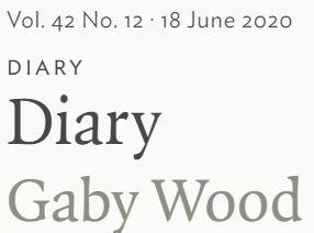 Diary Gaby Wood