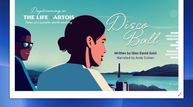 "Top New Audio Programs: ""Daydreaming In The Life Artois – Disco Ball"" Read By Andy Cohen (Stella Artois)"