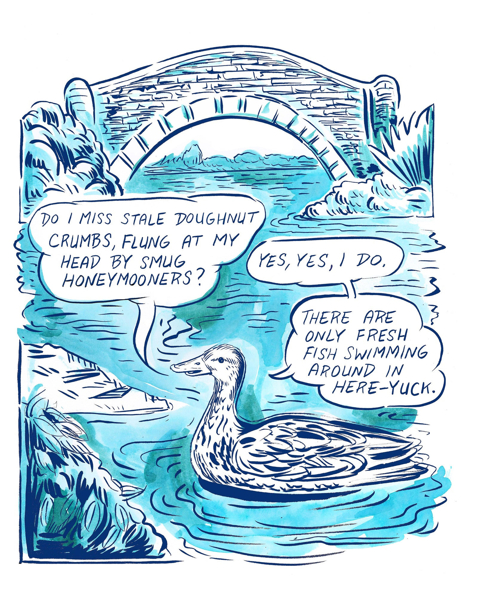 How Birds are Adjusting To Our New Reality - New Yorker - June 5 2020 - Illustration by Ali Fitzgerald