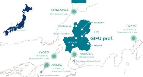 GIFU Map