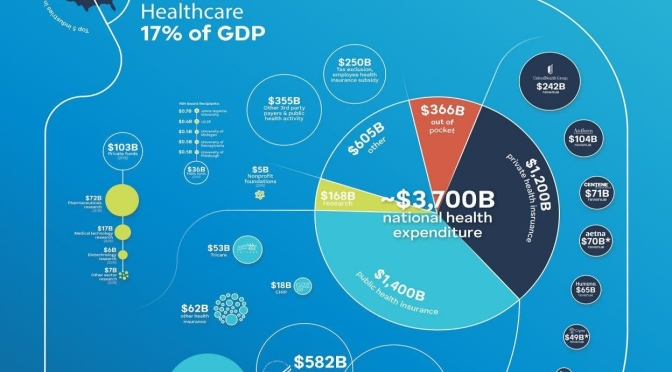 "Infographic: ""The Economics Of U.S. Healthcare"" In 2020"