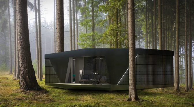 "Hi-Tech Mobile Housing: ""The Space By IO House"" – Self-Contained, Off-Grid"