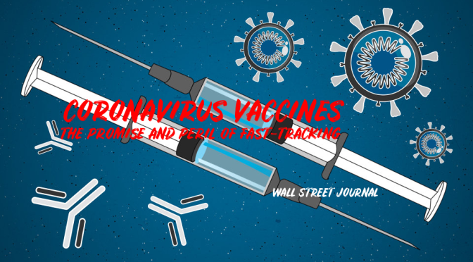 Coronavirus Vaccines: The Promise And Peril In Fast-Tracking (WSJ Video)