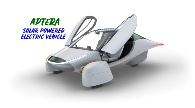 "Future Transportation: ""APTERA – Solar Powered Electric Vehicles"""