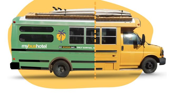 """Travel: """"MyBusHotel"""" Converts School Buses Into Luxury Campers"""
