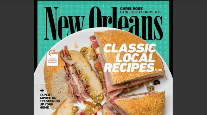"Food & Culture: June 2020 ""New Orleans Magazine"""
