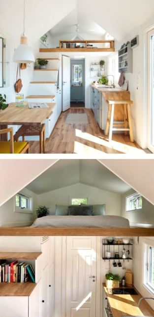 Norske Mikrohus Tiny Homes Interior