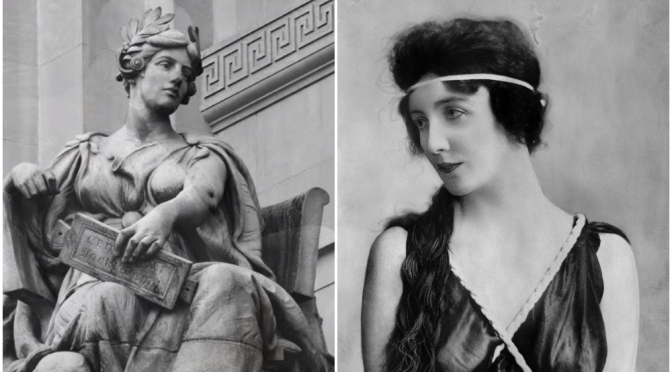 """Art: """"Audrey Munson"""" – The First """"Supermodel"""" In American History (Video)"""