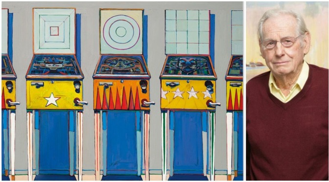 "Art Profiles: 99-Year Old American Painter Wayne Thiebaud's ""Classic Pop"""