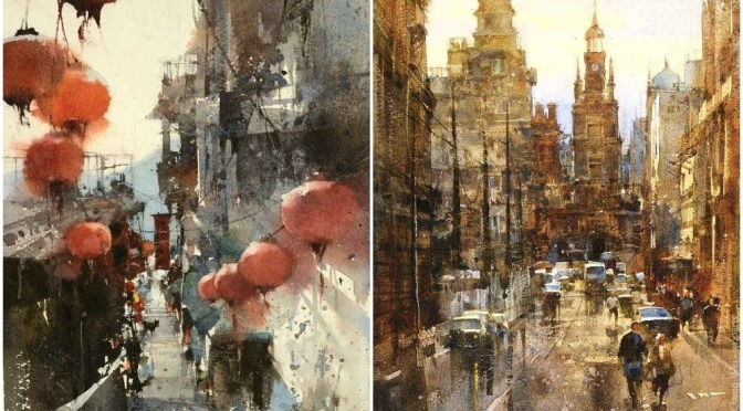 "Top Artists: Taiwanese Watercolorist Chien Chung-Wei   – ""Timeless"""
