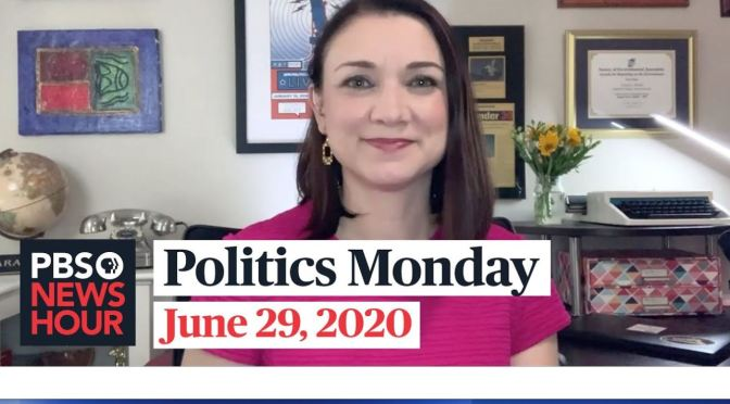 Politics Monday: Tamara Keith And Errin Haines On Latest In Washington (PBS)