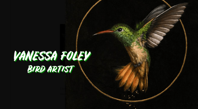 "World's Top Painters: Bird Artist Vanessa Foley – ""Sacred, Stylistic Beauty"""