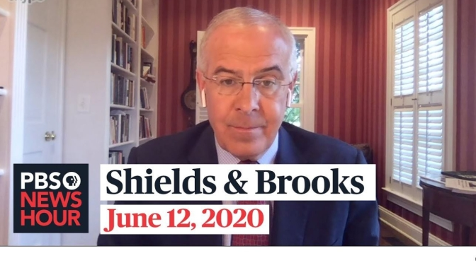 "Political News: ""Shields & Brooks"" On Widespread Protests (PBS Video)"