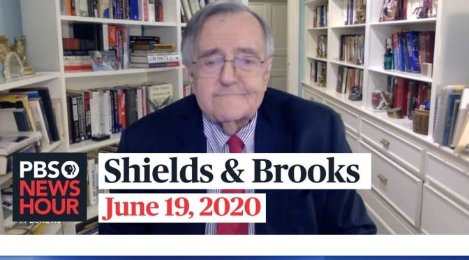"Political News: ""Shields & Brooks"" On U.S. Supreme Court Decisions (PBS)"
