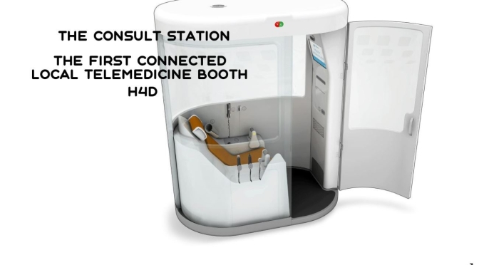 "New Healthcare Tech: ""Consult Station"" By H4D – First Telemedicine Booth"