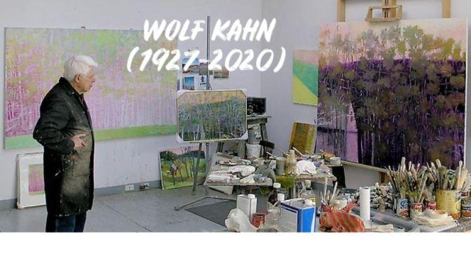 """Artist Tribute: Wolf Kahn (1927-2020) – """"Lust For Life"""""""
