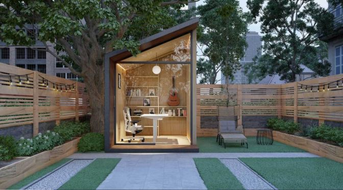 "Future Of Home Offices: ""Zen Work Pod"" – ""Simple, Monastically-Inspired Design"" By Autonomous"
