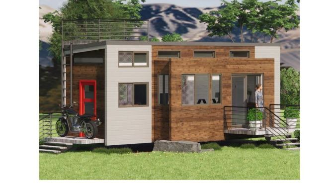 "Future Of Mobile Living: Amazing ""Expanding"" Tiny House (Zero Squared)"