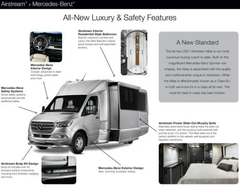 2021 Airstream Atlas Touring Coach
