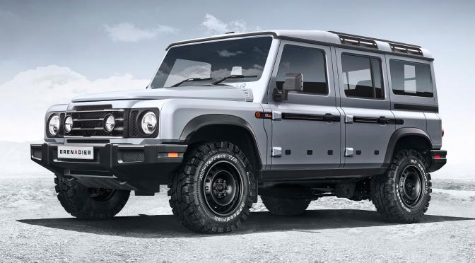"Top New SUV's: ""2022 INEOS Grenadier 4×4"" (Video)"
