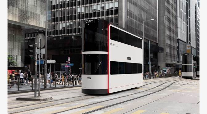 "Transit Design: ""Double-Decker Driverless Tram"""