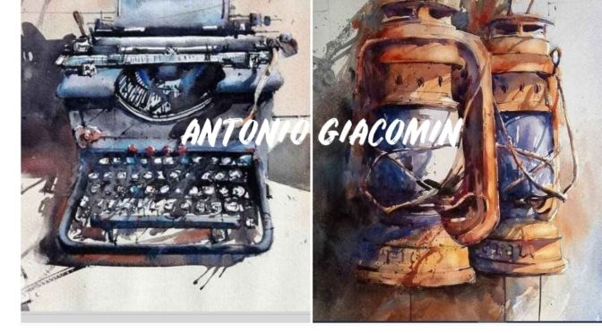 Top Artist Profiles: Brazilian Watercolorist Antonio Giacomin